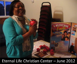 Hosted by the Cancer Institute of New Jersey, The Body & Soul+ program engages local congregations in nutrition education, physical activity, and healthy produce.