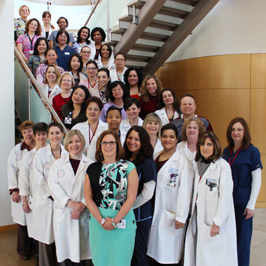 Nursing Staff of The Cancer Institute of New Jersey