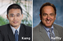 Yibin Kang, PhD and Bruce Haffty, MD