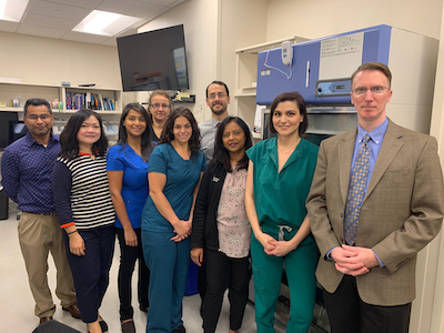 Pharmacy team at Rutgers Cancer Institute