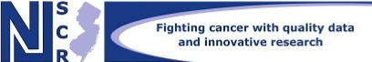 New Jersey Cancer State Registry logo graphic