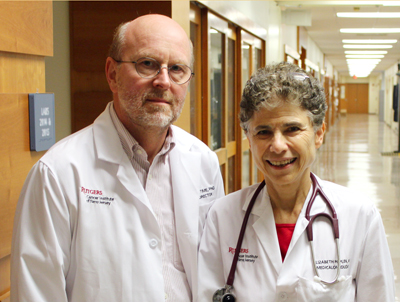 Edmund Lattime, PhD and Elizabeth Poplin, MD