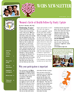 Women's Circle of Health Study Newsletter Spring 2016