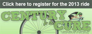 Century for the Cure bike ride registration