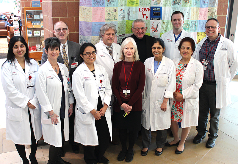 Lung Cancer Team at Rutgers Cancer Institute of New Jersey