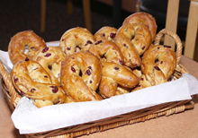 Panera Pink Ribbon Bagels