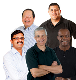 free prostate cancer screening group of men