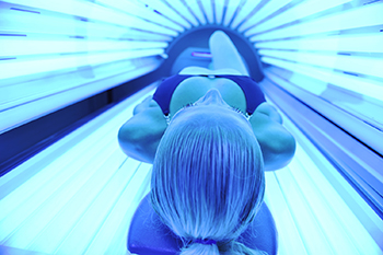tanning bed image