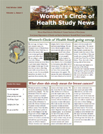 Women's Circle of Health Study Newsletter