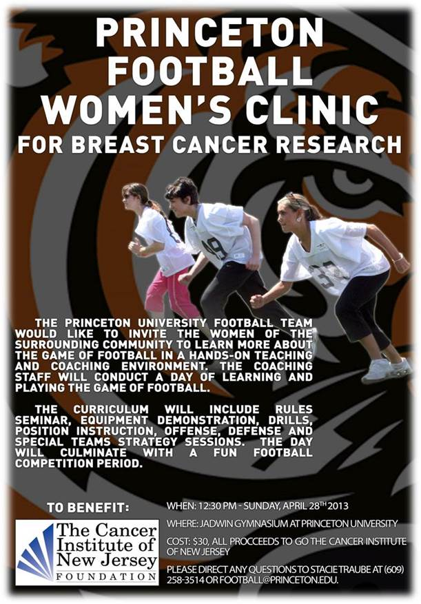 Princeton Football Women's Clinic